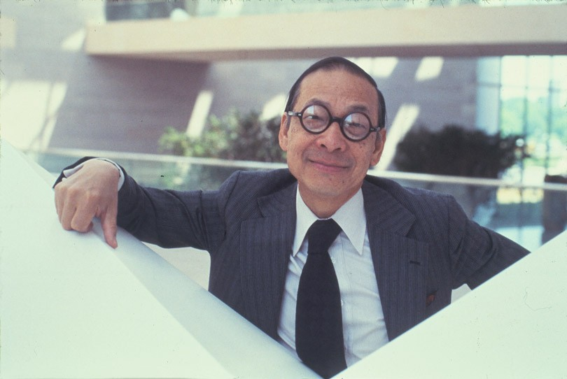 Photograph of I.M. Pei