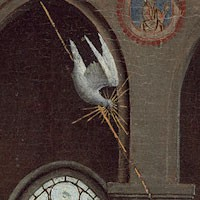 Detail of dove
