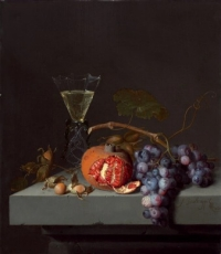 Jacob van Walscapelle - Still Life with Fruit - 1675