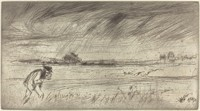 James McNeill Whistler, The Storm, 1861
