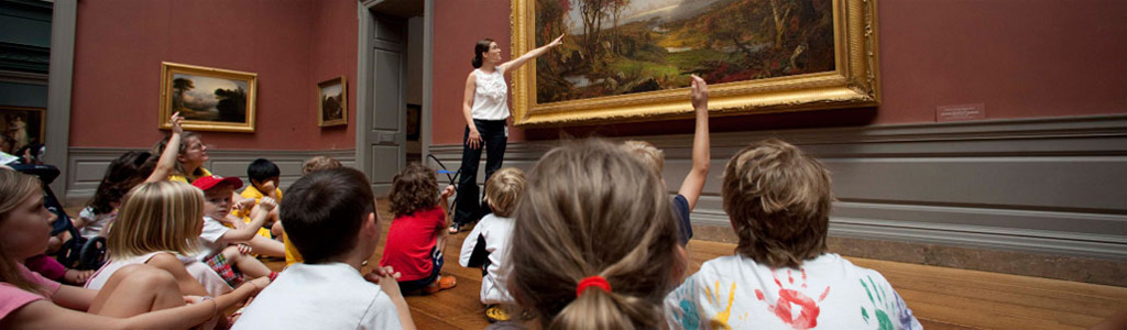 """National Gallery of Art - Education Section"" icon"
