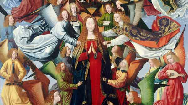 Mary Queen Of Heaven Master Of The Saint Lucy Legend Kid S