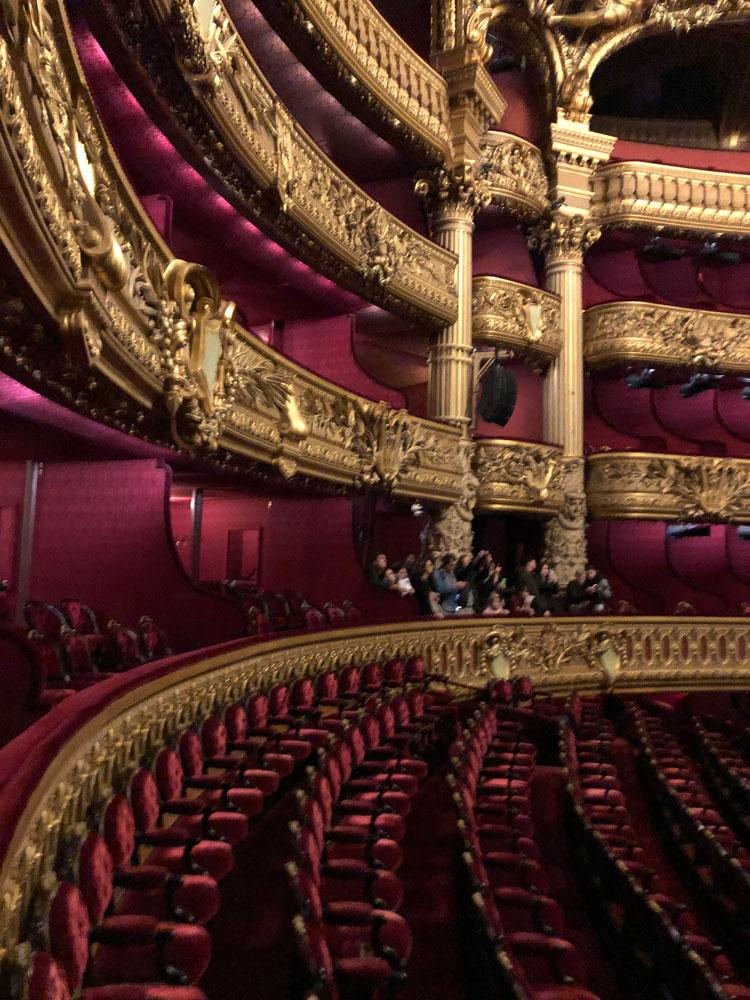 Auditorium of the Paris Opéra, Photograph