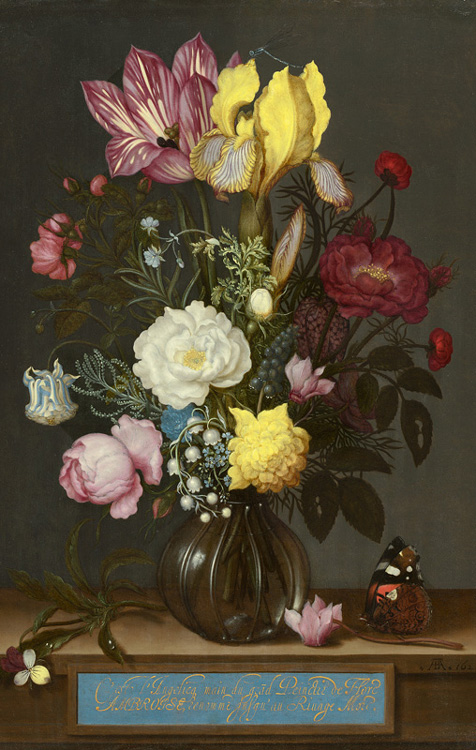 Ambrosius Bosschaert Dutch 1573 1621 Bouquet Of Flowers In A