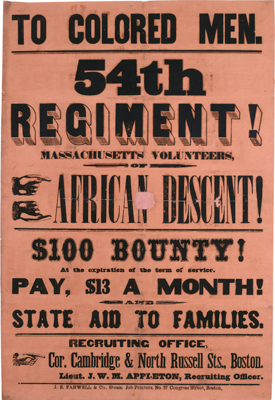 54th regiment thesis The undeniable bravery of the 54th massachusetts and other black regiments  disproved the idea of black inferiority tures, the huffington post the klan was.