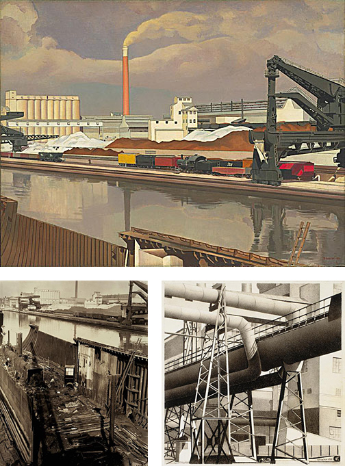 Ford River Rouge Plant >> Charles Sheeler