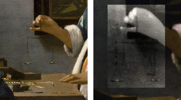 Vermeers painting technique inwoman holding a balance essay