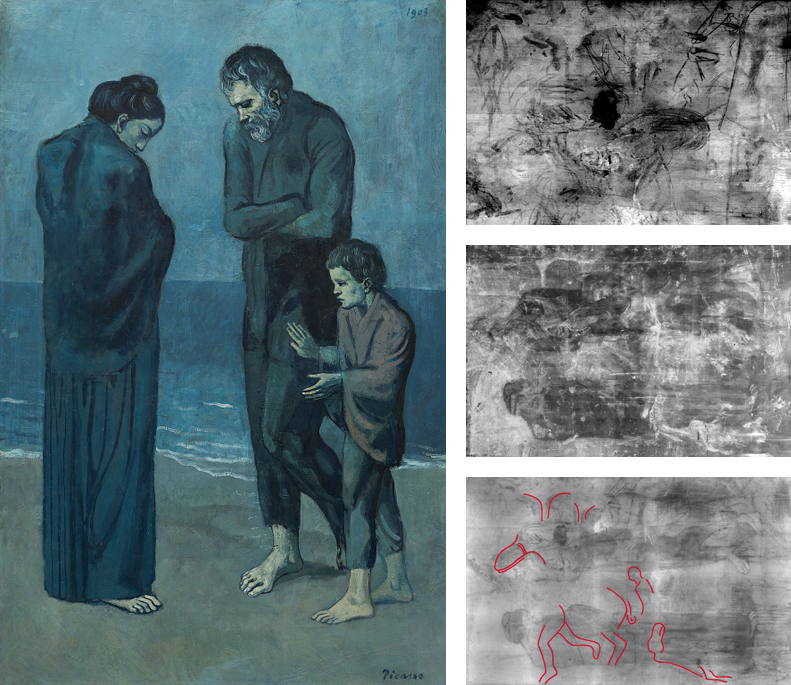 pablo picasso the tragedy