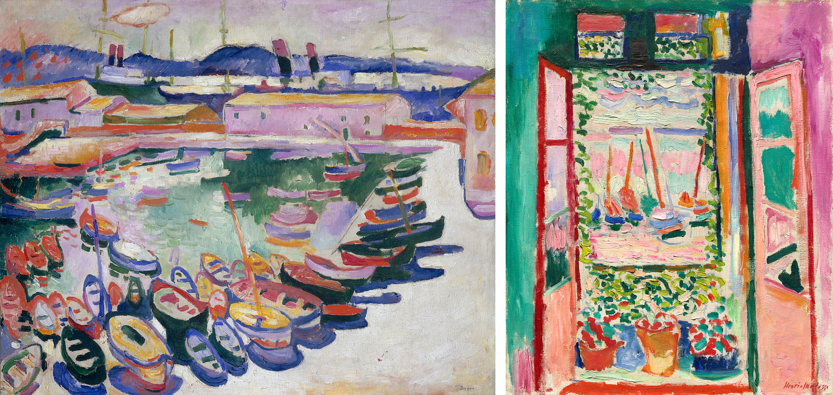 henri matisse and fauvism Fauvism is the name given to the work produced by a group of artists including henri matisse and andré derain from around 1905 to 1910, which is typified by strong colors and fierce brushwork.