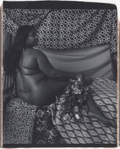 Mickalene Thomas,Melody: Back, 2011