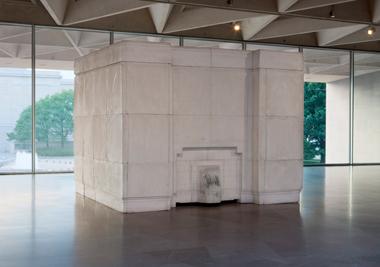 Rachel Whiteread, Ghost, 1990, plaster on steel frame, National Gallery of Art, Washington, Gift of The Glenstone Foundation