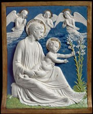 Madonna and Child with Lilies