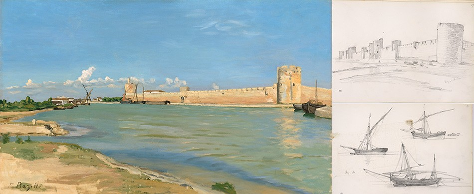 The Western Ramparts at Aigues Mortes