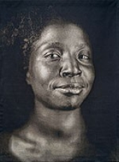 Lorna [Lorna Simpson] by Chuck Close, 2006