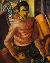 Malvin Gray Johnson, Self-Portrait, 1934