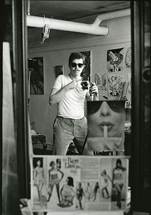 Jim Nutt, Self-Portrait, c. 1966