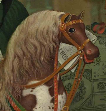 The Hobby Horse, detail