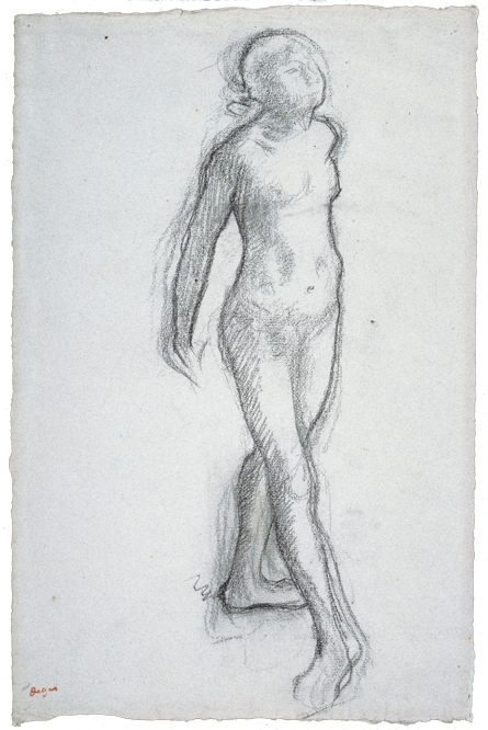 Study of a Nude Dancer