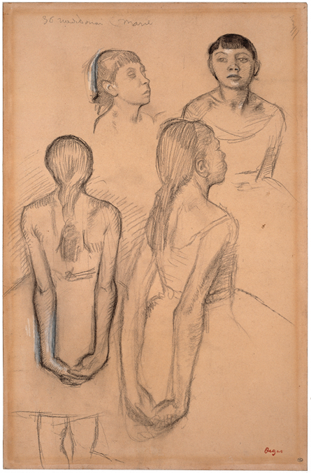 Four Studies of a Dancer