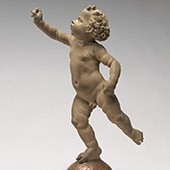 Andrea del Verrocchio, Putto Poised on a Globe