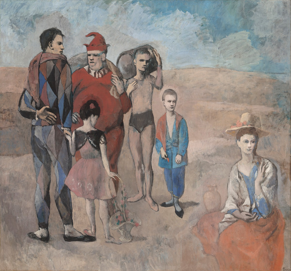 Picasso-Family-Saltimbanques-1200px