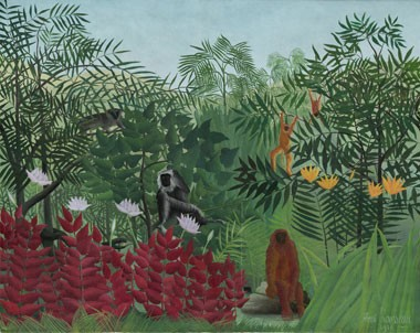 rousseau-tropical-forest