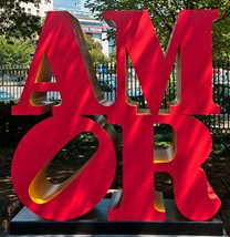 Image: Robert Indiana AMOR, conceived 1998, executed 2006 National Gallery of Art, Washington Gift of Simon and Gillian Salama-Caro in Memory of Ruth Klausner © 2012 Morgan Art Foundation / Artists Rights Society (ARS), New York