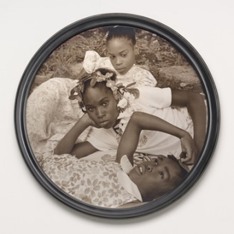 Carrie Mae Weems May Flowers chromogenic print, printed 2013 image: 78.74 × 78.74 cm (31 × 31 in.) framed: 85.09 × 85.09 cm (33 1/2 × 33 1/2 in.) Alfred H. Moses and Fern M. Schad Fund