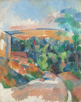 Faya Causey delivers a lecture titled Cézanne and Antiquity on July 29 and August 2 at the National Gallery of Art. Image: Paul Cézanne, The Bend in the Road, 1900/1906, oil on canvas, National Gallery of Art, Washington, Collection of Mr. and Mrs. Paul Mellon