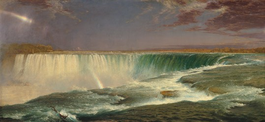 Frederic Edwin Church, Niagara, 1857 oil on canvas National Gallery of Art, Corcoran Collection (Museum Purchase, Gallery Fund)