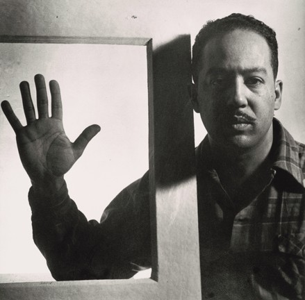 Gordon Parks, Langston Hughes, Chicago, April 1942, gelatin silver print, National Gallery of Art, Washington, Corcoran Collection (The Gordon Parks Collection), © The Gordon Parks Foundation