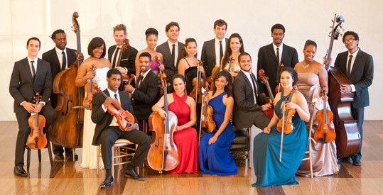 Sphinx Virtuosi performs 'Latin Voyages: Viajes Latinos' on October 8, 2:00 p.m., West Garden Court, in recognition of National Hispanic Heritage Month.