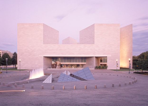Art Museums by Ieoh Ming Pei: East Building of the National Gallery of Art. Image © Dennis Brack/Blackstar. National Gallery of Art, Gallery Archives