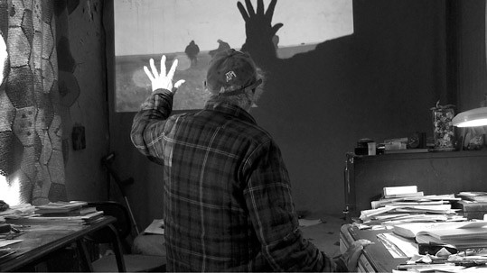 Still from Don't Blink – Robert Frank by Laura Israel, 2015, to be shown on Sunday, June 19, at 4:00 p.m. at the National Gallery of Art, East Building Auditorium. Image courtesy Assemblage Films.