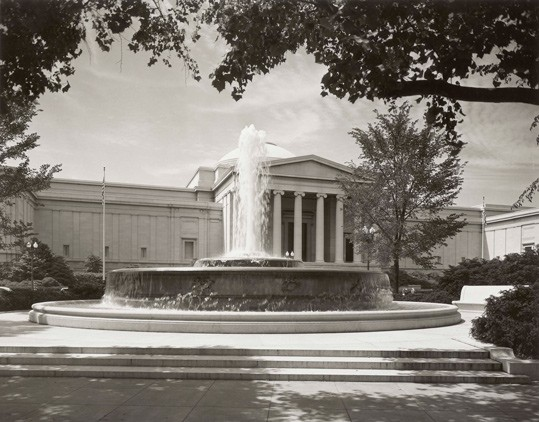 Andrew W. Mellon Memorial Fountain, National Gallery of Art, Washington, D.C., Gallery Archives