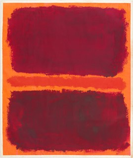 Mark Rothko American, born Russia, 1903 - 1970 Untitled, 1969 acrylic on paper 127 x 107 cm (50 x 42 1/8 in.) National Gallery of Art, Washington, Gift of The Mark Rothko Foundation, Inc. Copyright © 2005 Kate Rothko Prizel and Christopher Rothko
