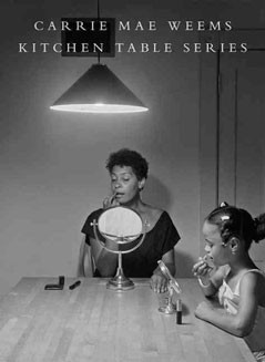 A book signing of Carrie Mae Weems: Kitchen Table Series follows Carrie Mae Weems' lecture at the National Gallery of Art on October 17, noon, in the East Building Auditorium.