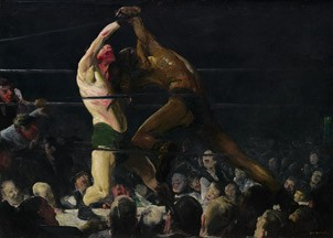George Bellows, Both Members of This Club, 1909, oil on canvas, National Gallery of Art, Washington, Chester Dale Collection