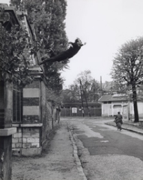 Yves Klein, Harry Shunk, and Jean Kender Leap into the Void, 1960 gelatin silver print Lent by The Metropolitan Museum of Art, Purchase, The Horace W. Goldsmith Foundation Gift, through Joyce and Robert Menschel, 1992 © 2012 Artists Rights Society (ARS), New York / ADAGP, Paris; Shunk-Kender © Roy Lichtenstein Foundation; Copy photograph © The Metropolitan Museum of Art