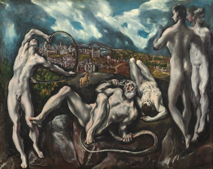 El Greco (Domenikos Theotokopoulos), Laocoön, c. 1610/1614 oil on canvas Samuel H. Kress Collection