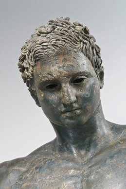 "Unknown Artist (Hellenistic Bronze) Athlete ""Ephesian Apoxyomenos"", AD 1- 90 bronze and copper Kunsthistorisches Museum, Antikensammlung, Vienna"