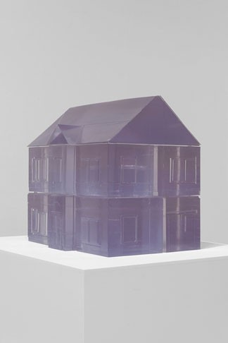 Rachel Whiteread, Ghost, Ghost II, 2009, polyurethane (fourteen parts), Agnes Gund Collection