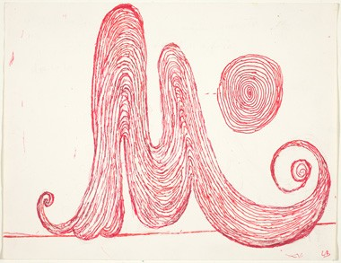 Louise Bourgeois M is for Mother, 1998 National Gallery of Art, Washington Gift of Dian Woodner © The Easton Foundation, Licensed by VAGA, NY