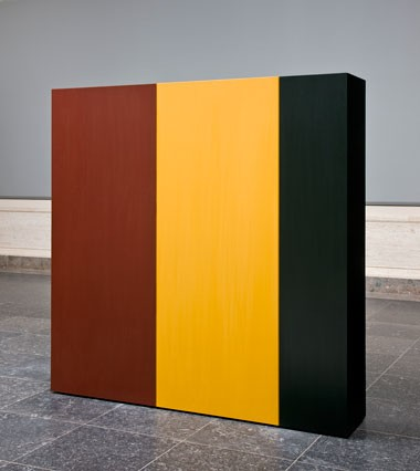 Anne Truitt, Knight's Heritage, 1963, acrylic on wood, National Gallery of Art, Washington, Gift of the Collectors Committee