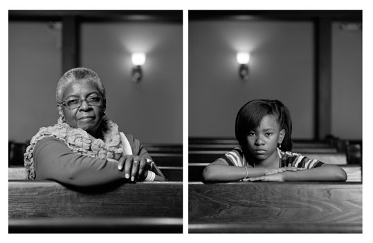 Dawoud Bey Mary Parker and Caela Cowan, 2012 2 inkjet prints mounted to dibond National Gallery of Art, Washington, Gift of the Collectors Committee and the Alfred H. Moses and Fern M. Schad Fund