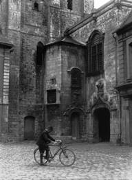 Hotel de Ville, Abbeville, France, destroyed 1940. Photograph Clarence Ward