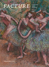 "Image: book cover of ""Facture: Conservation, Science, Art History Volume 3: Degas"""