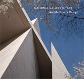 "Image: book cover of ""National Gallery of Art: Architecture + Design"""