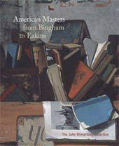 "Image: Book Cover of ""American Masters from Bingham to Eakins: The John Wilmerding Collection"""