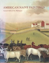 "Image: Book Cover of ""American Naive Paintings"""